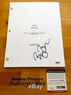 Bryan Fuller Signed Full Hannibal Pilot Script 55 Pages Psa Dna Coa