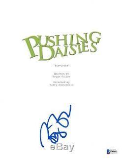 Bryan Fuller Signed Pushing Daisies Pilot Script Beckett Bas Autograph Auto