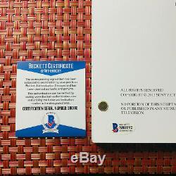 CAITRIONA BALFE SIGNED OUTLANDER FULL PAGE PILOT SCRIPT with BECKETT BAS COA