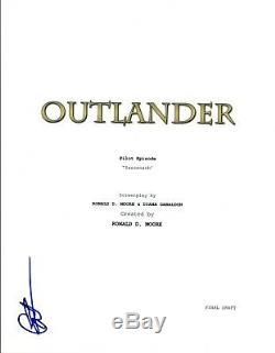 Caitriona Balfe Signed Autographed OUTLANDER Pilot Episode Script COA VD