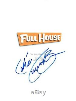 Candace Cameron Bure Signed Autographed FULL HOUSE Pilot Episode Script COA