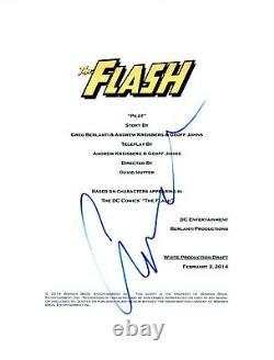 Candice Patton Signed Autographed THE FLASH Pilot Episode Script COA