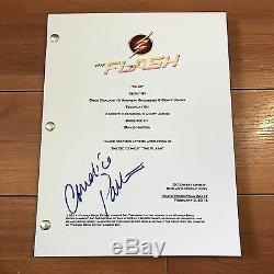 Candice Patton Signed The Flash Full Pilot Episode Script In Person Autograph