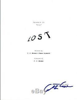 Carlton Cuse Signed Autographed LOST Pilot Episode Script COA VD