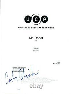 Carly Chaikin Signed Autographed MR ROBOT Pilot Episode Script COA AB
