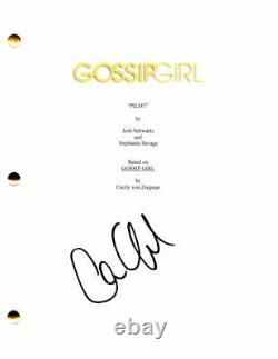 Chace Crawford Signed Autograph Gossip Girl Full Pilot Script Blake Lively
