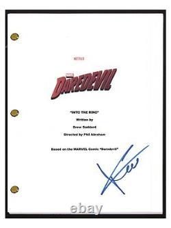 Charlie Cox Signed Autographed DAREDEVIL Pilot Episode Script COA
