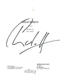 Charlie Hunnam Signed Autographed SONS OF ANARCHY Pilot Script Jax COA