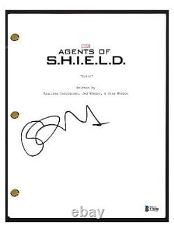 Chloe Bennet Signed Autograph Agents of SHIELD Pilot Episode Script Beckett COA