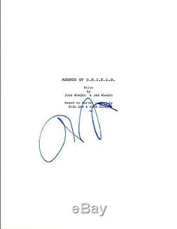 Chloe Bennet Signed Autographed Agents of SHIELD Pilot Episode Script COA VD