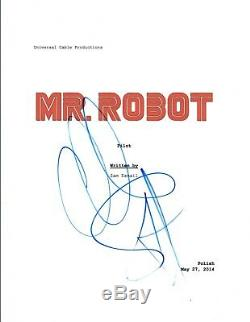 Christian Slater Signed Autographed MR. ROBOT Pilot Episode Script COA VD