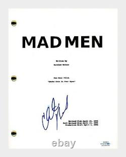 Christina Hendricks Signed Autographed MAD MEN Pilot Episode Script ACOA COA