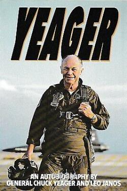 Chuck Yeager Signed Book Test Pilot Scott Crossfield Slick Goodlin Fitz Fulton