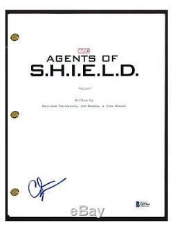 Clark Gregg Signed Autographed AGENTS OF SHIELD Pilot Script Beckett BAS COA