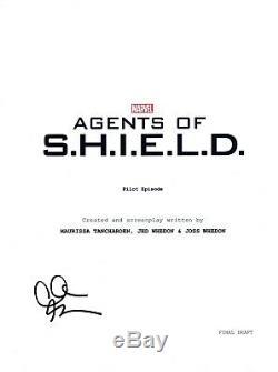 Clark Gregg Signed Autographed AGENTS OF SHIELD Pilot Script COA