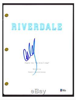 Cole Sprouse Signed Autograph RIVERDALE Pilot Script Jughead Jones Beckett COA