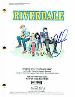 Cole Sprouse Signed Autograph Riverdale Pilot Episode Script LILI Reinhart