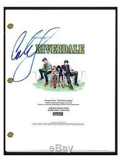 Cole Sprouse Signed Autographed RIVERDALE Pilot Episode Script Jughead Jones COA