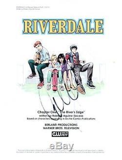 Cole Sprouse Signed Autographed RIVERDALE Pilot Script Jughead Jones COA