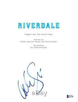 Cole Sprouse Signed Riverdale Pilot Script Beckett Bas Autograph Auto