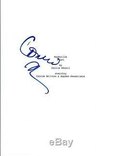 Connie Britton Signed Autographed NASHVILLE Pilot Episode Script COA VD