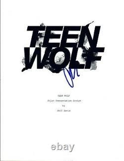 Crystal Reed Signed Autographed TEEN WOLF Pilot Episode Script COA VD