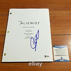 DANIEL BRUHL SIGNED THE ALIENIST FULL 67 PAGE PILOT SCRIPT with BECKETT BAS COA