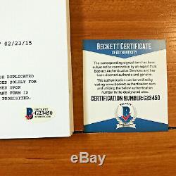 DOMINIC SHERWOOD SIGNED SHADOWHUNTERS FULL PILOT SCRIPT with BECKETT BAS COA