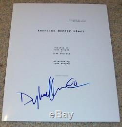 DYLAN MCDERMOTT SIGNED AUTOGRAPH AMERICAN HORROR STORY FULL PILOT SCRIPT withPROOF