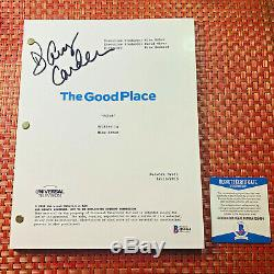 D'ARCY CARDEN SIGNED THE GOOD PLACE FULL PILOT SCRIPT with BECKETT BAS COA