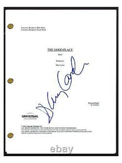 D'Arcy Carden Signed Autographed THE GOOD PLACE Pilot Episode Script COA