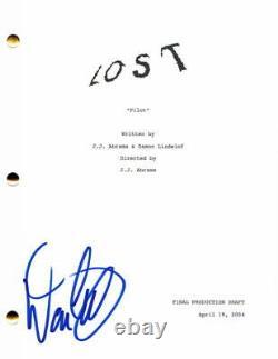 Damon Lindelof Signed Autograph Lost Pilot Script Jj Abrams, Maggie Grace