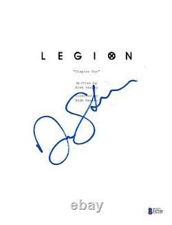 Dan Stevens Signed Legion Pilot Script Beckett Bas Autograph Auto