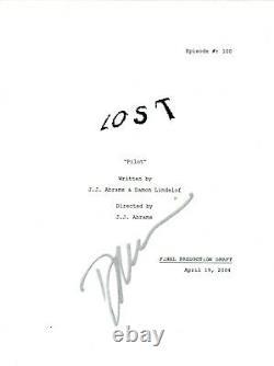 Daniel Dae Kim Signed Autographed LOST Pilot Episode Script COA