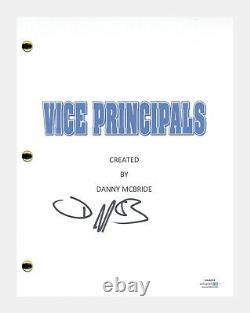 Danny McBride Signed Autographed Vice Principals Pilot Script ACOA COA