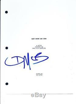 Danny Mcbride Signed Eastbound And Down Pilot Ep Script Autograph Hbo Coa