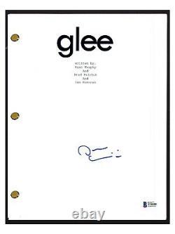Darren Criss Signed Autographed GLEE Pilot Episode Script Beckett BAS COA