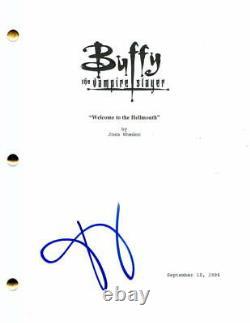 David Boreanaz Signed Autograph Buffy The Vampire Slayer Full Pilot Script