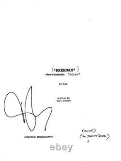 David Boreanaz Signed Autographed BONES Pilot Episode Script COA