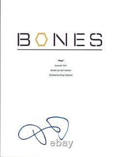 David Boreanaz Signed Autographed BONES Pilot Episode Script COA VD