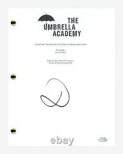 David Castaneda Signed Autographed The Umbrella Academy Pilot Script ACOA COA