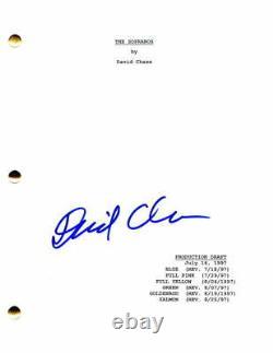 David Chase Signed Autograph The Sopranos Full Pilot Script James Gandolfini