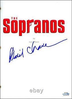 David Chase The Sopranos AUTOGRAPH Signed Full Pilot Episode Script ACOA