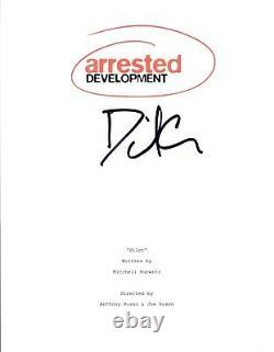 David Cross Signed Autographed ARRESTED DEVELOPMENT Pilot Episode Script COA