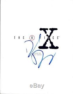 David Duchovny Signed Autographed THE X-FILES Pilot Episode Script COA