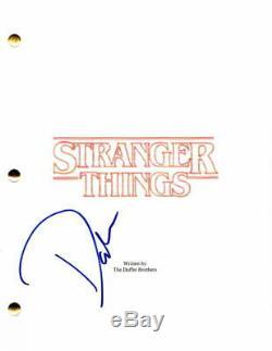 David Harbour Signed Autograph Stranger Things Full Pilot Script Jim Hooper