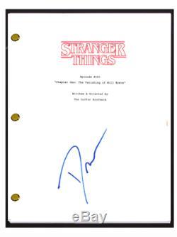 David Harbour Signed Autographed STRANGER THINGS Pilot Episode Script COA