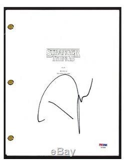 David Harbour Signed Autographed STRANGER THINGS Pilot Script PSA/DNA COA