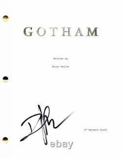 David Mazouz Signed Autograph Gotham Full Pilot Script Bruce Wayne, Batman