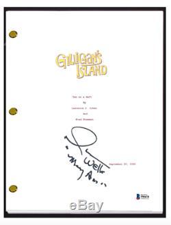 Dawn Wells Signed Autograph GILLIGAN'S ISLAND Pilot Episode Script Beckett COA